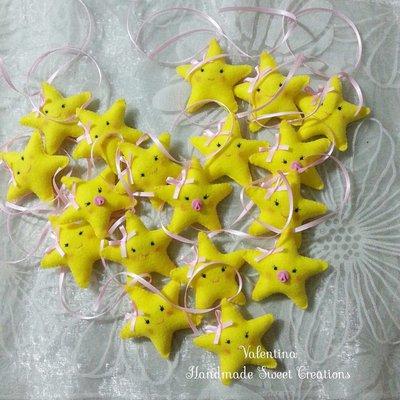 Riservata- stella in pannolenci