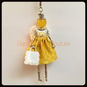 Collana con Bambolina - My Little Doll by Sara Susan Couture