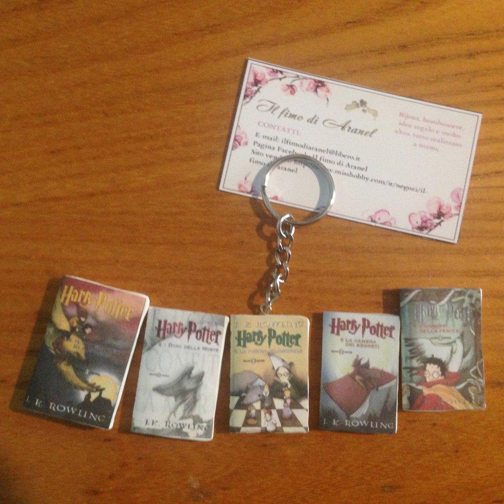 Ciondoli libri Harry Potter