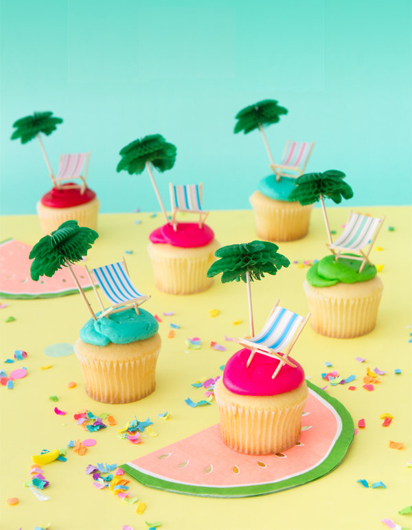 Set con 24 Toppers per Cupcake