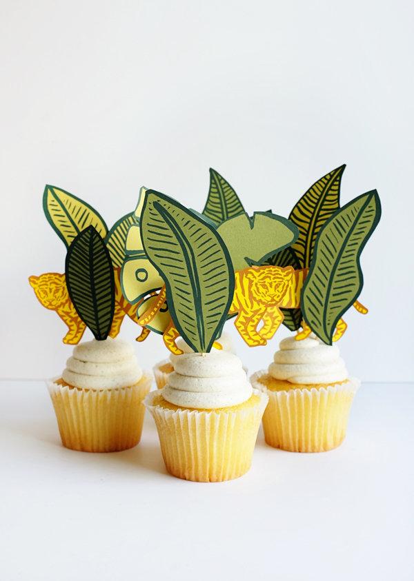 Toppers per Cupcake