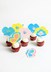 Toppers per Cupcakes