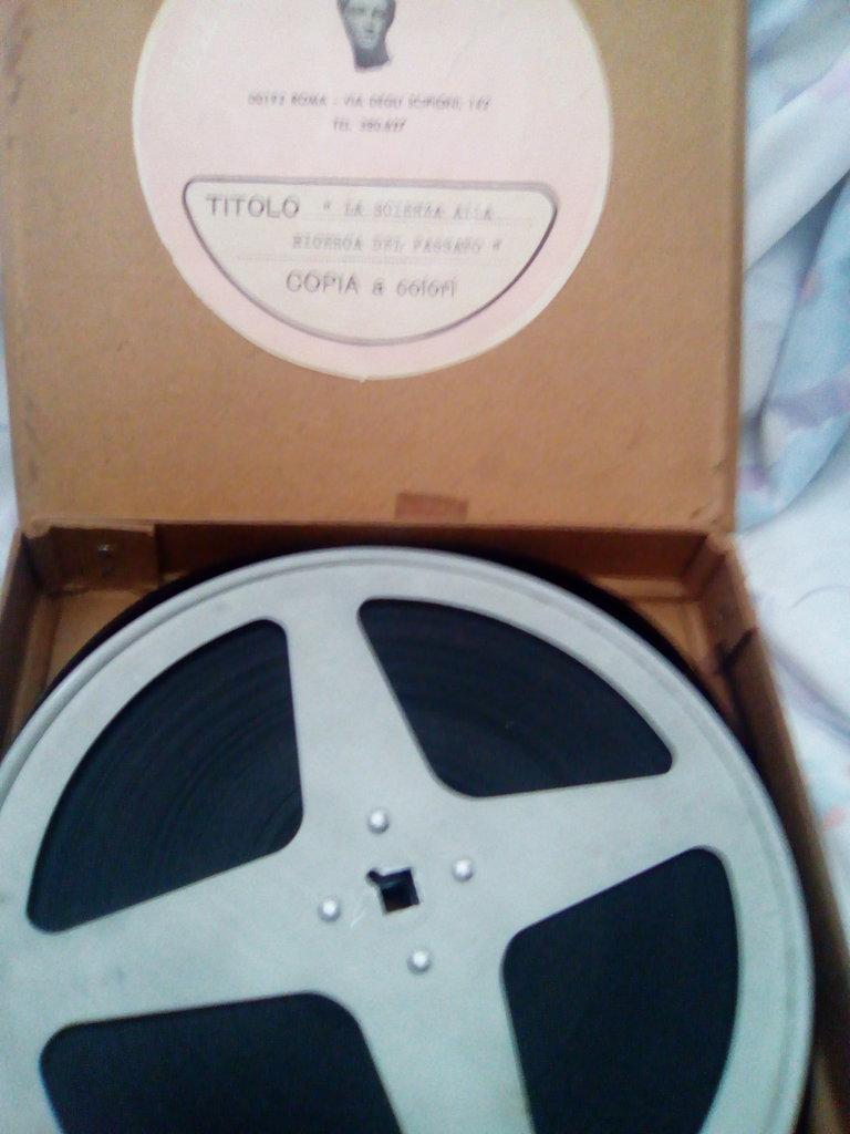 pellicola anni 70 vintage LA SCIENZA ALLA RICERCA DEL PASSATO- didattica come nuova