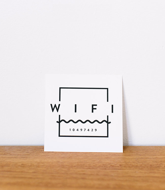 Tag Wifi Personalizzabile