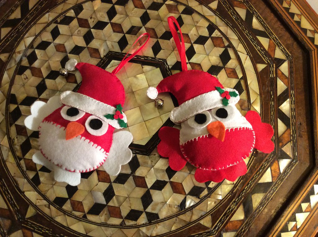 Gufetti spiritosi natalizi
