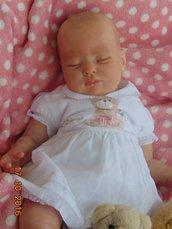 Bambola reborn Molly,realizzata da Raffaella Saccardo