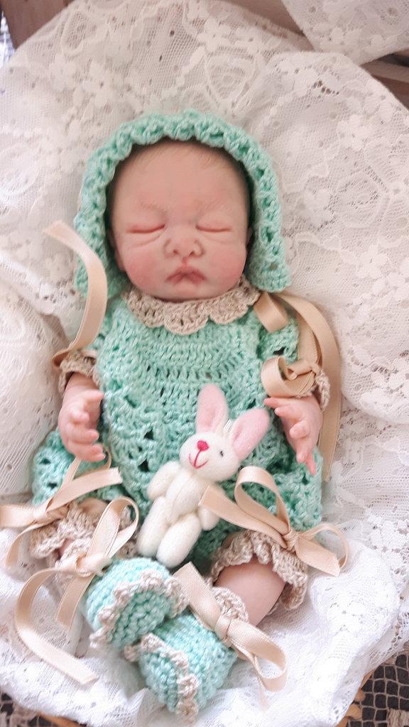 Baby ooak realizzato a mano da Raffaella Saccardo