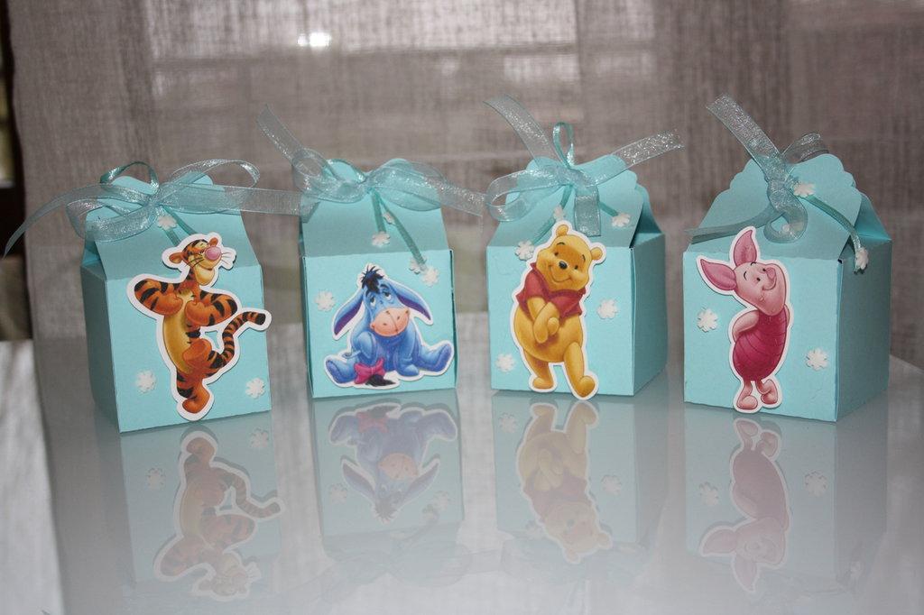 Bomboniere Personaggi - Piccolo Principe e Winnie The Pooh