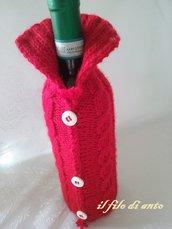 Copribottiglia in lana