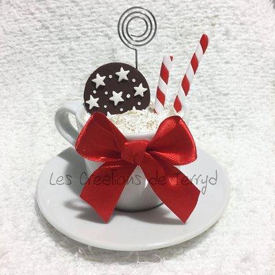 Tazza Portafoto natalizia