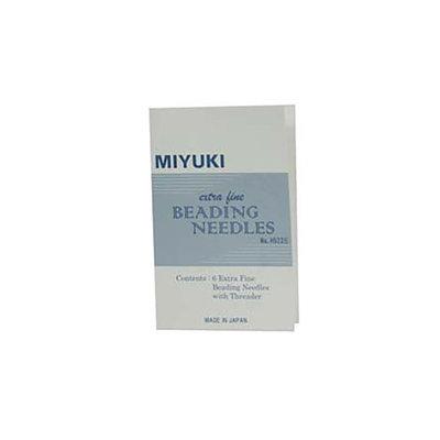 Aghi extra-fini per perle Miyuki  (6 pezzi)