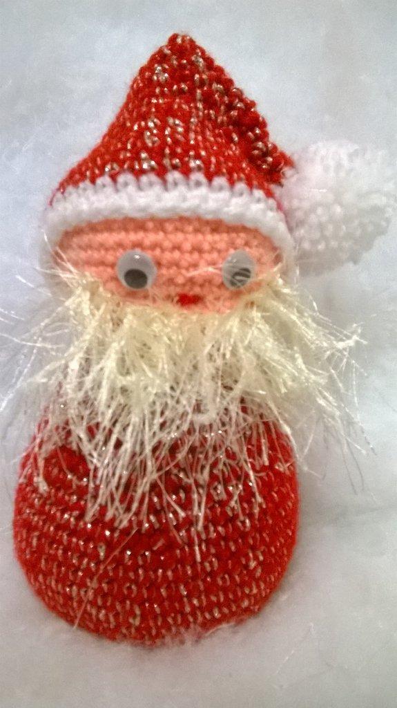 Babbo Natale, amigurumi, idea regalo