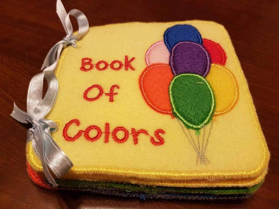 Book of Colors Il libro dei Colori Quiet Book