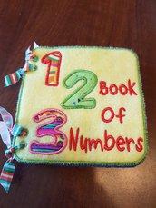 1,2,3, Numbers Book, Contiamo fino a 10!!! Quiet Book