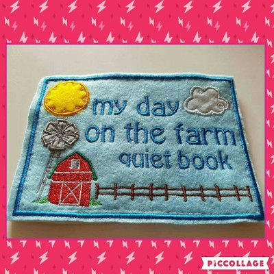 Quiet Book Il mio giorno nella fattoria
