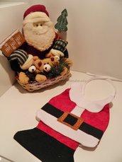 Bavaglio neonato per feste di Natale