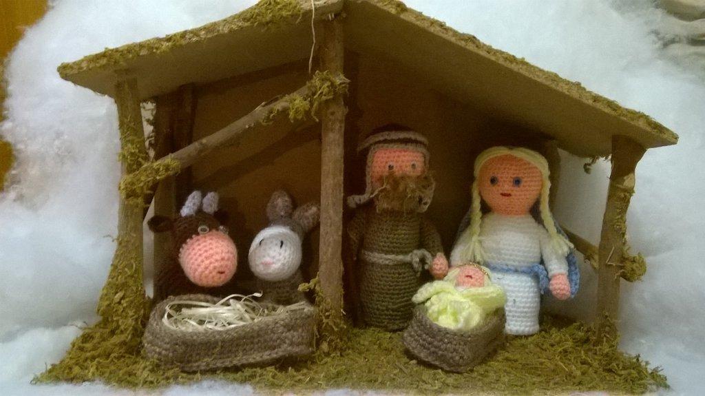 Presepe Amigurumi Idea Regalo Feste Natale Di Le Creazioni D