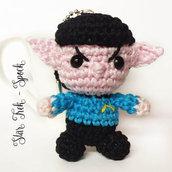Spock amigurumi portachiavi uncinetto Star Trek