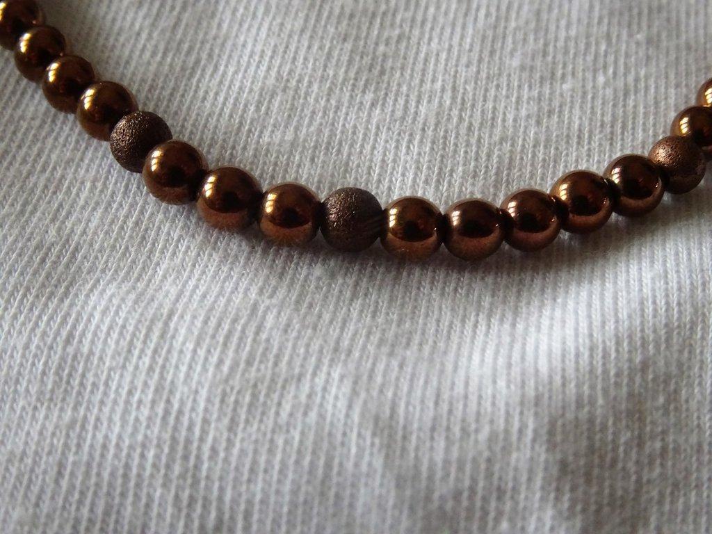 Bracciale elastico color rame