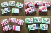 Inserzione Riservata per Mirella - Lotto Scatoline SegnaPosto - Christmas Collection! Green and Red Pack (20pz)