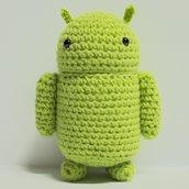 Amigurumi Android Robot Uncinetto (realizzabile su ordinazione)
