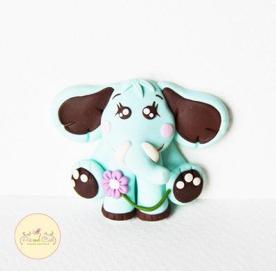 Elefantino calamita di fimo
