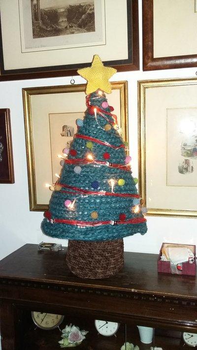Albero di Natale con lucette