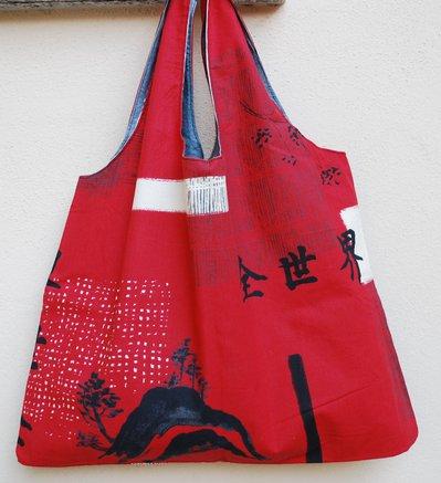 Shopper con tema orientale