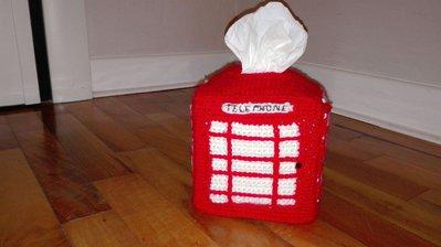 Portakleenex cabina telefonica londinese