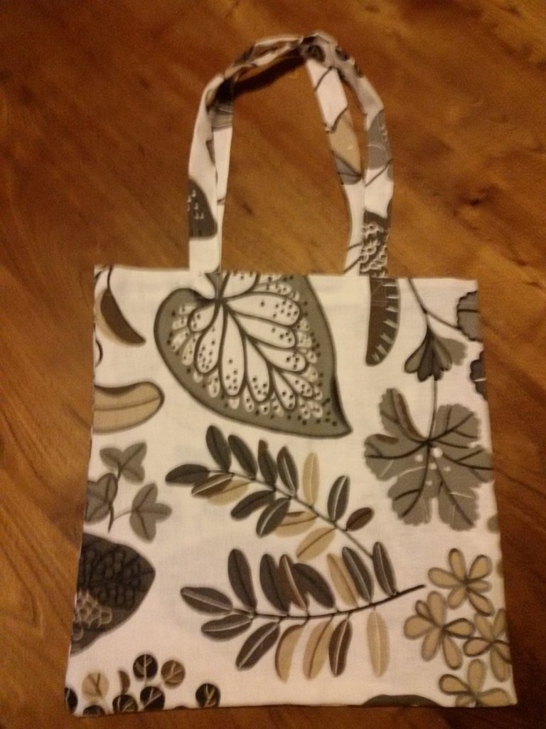 Shopper autunnale in cotone