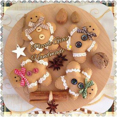 Decorazione natalizia Omino Pandizenzero (Gingerbreadman)