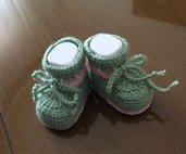 Scarpette per neonata