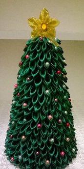 Albero di Natale Kanzashi handemade