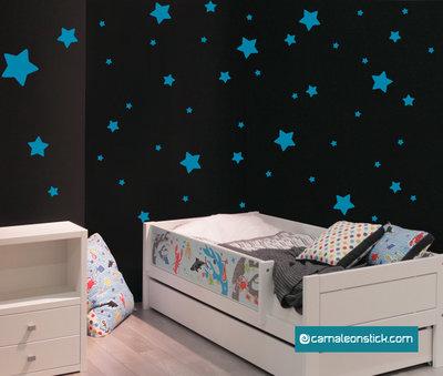 Cielo stellato - adesivo murale per bambini - sticker da parete stelle