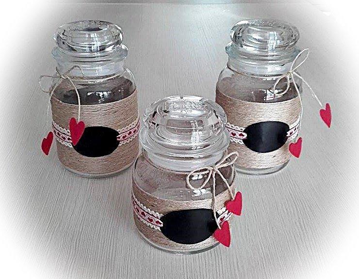 Decorazione per vasi in vetro