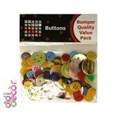 Confezione bottoni colorati