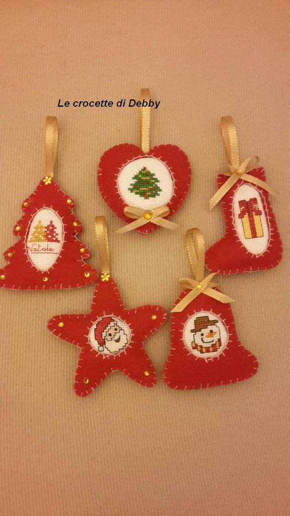 addobbi natalizi per albero