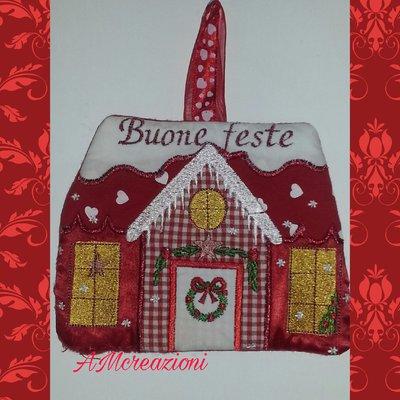 """Fuori porta natalizio """"casetta"""""""