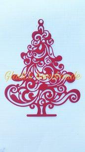 Albero di Natale in cartoncino