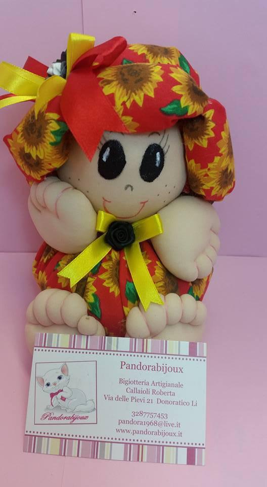 Bambola Lapandora Media  H 15 L 12