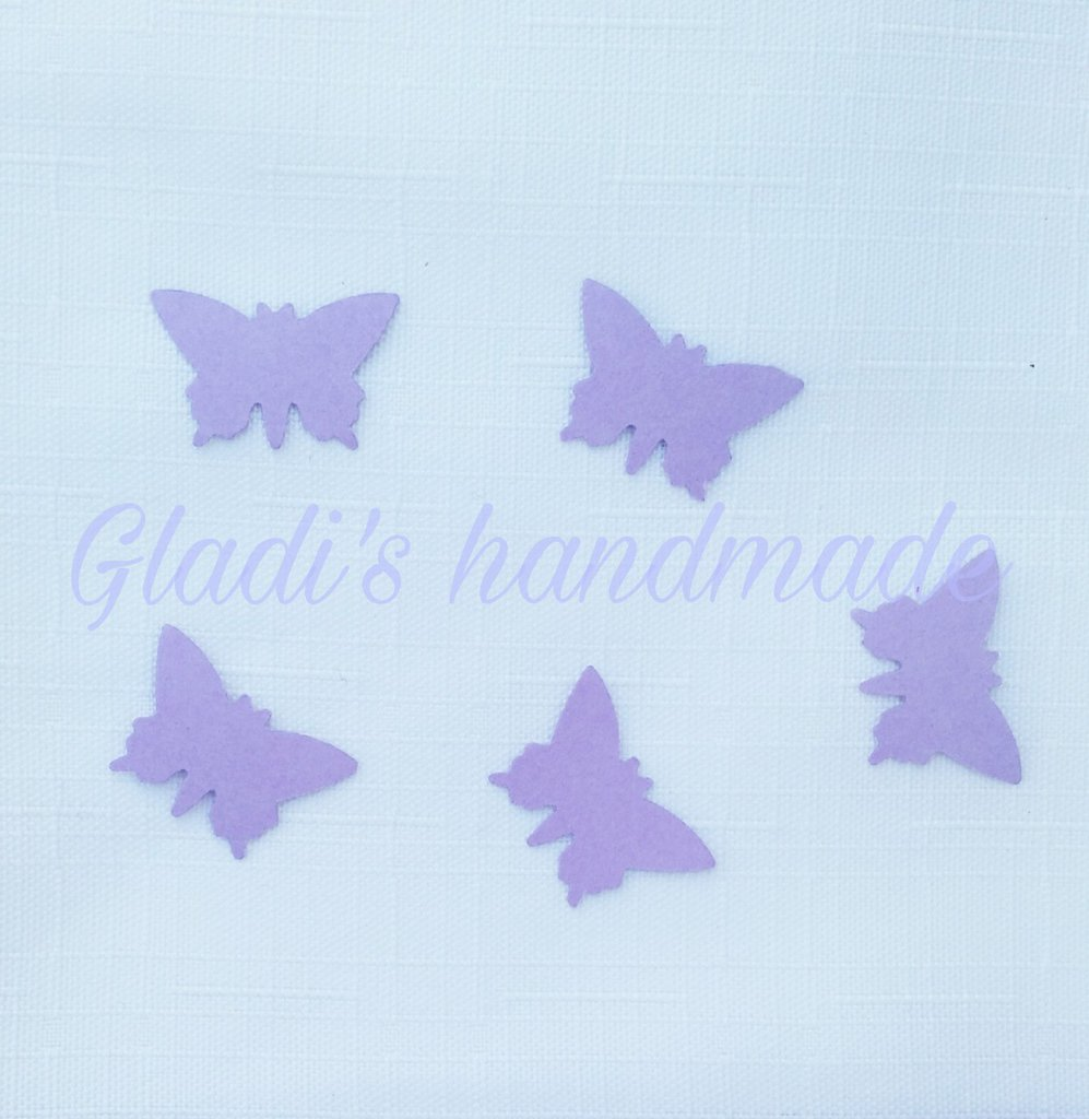 500 farfalle in cartoncino