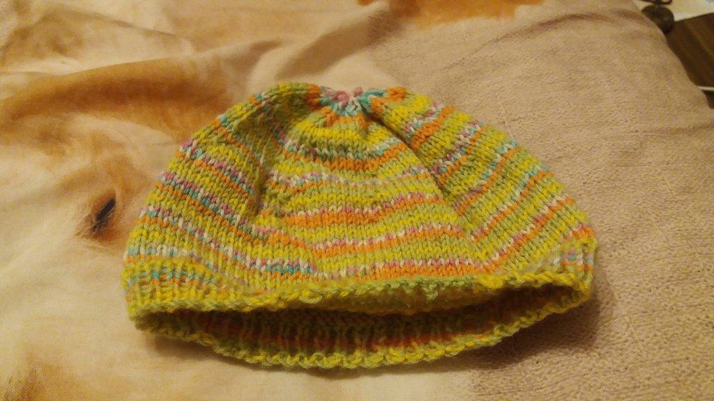 beretto per neonati autunno primavera multicolor