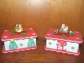 scatoline porta cioccolatini natalizie