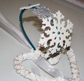 Cerchietto bimba - Fiocchi di neve