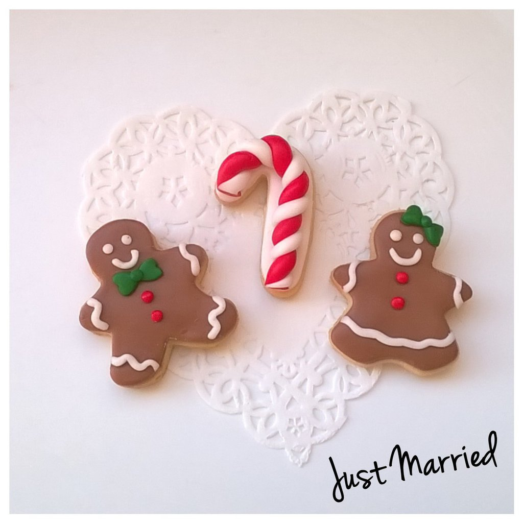 biscotti decorati Mr.& Mrs. Ginger