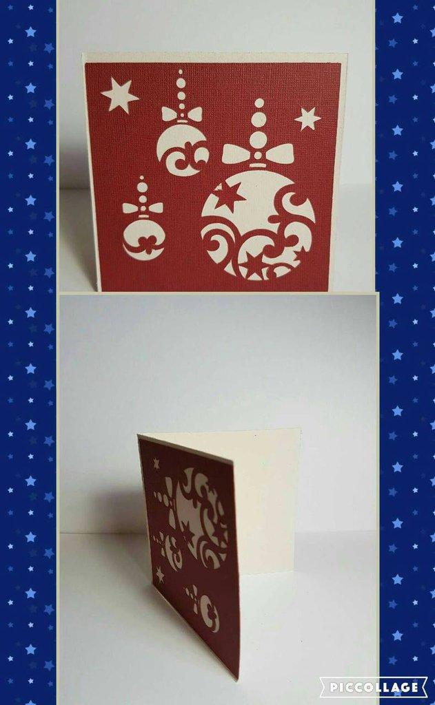 Christmas bells card  Biglietto  di Auguri