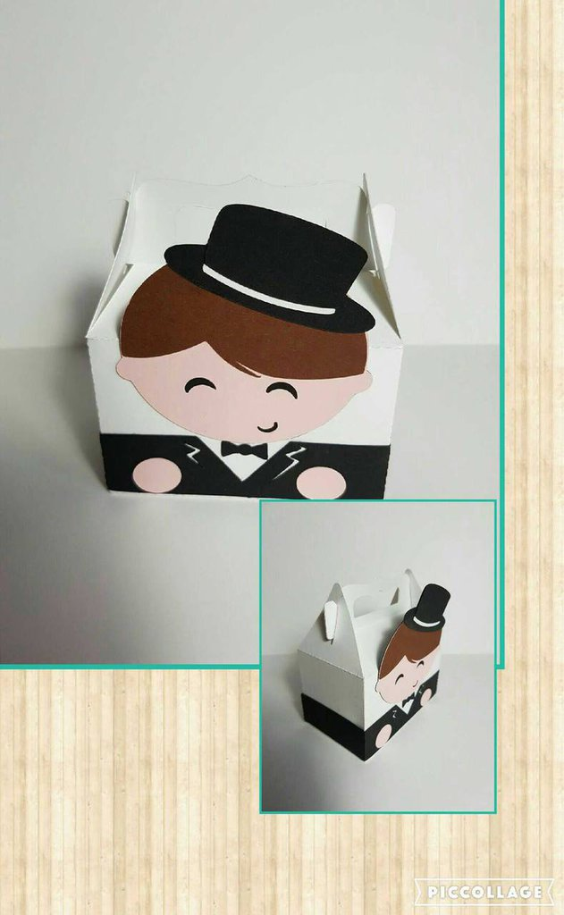 Cute Groom Box