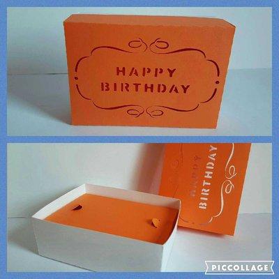 Scatolina Happy Birthay