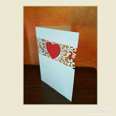 Flourish card  Biglietto San Valentino