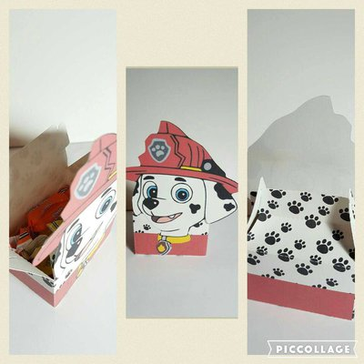 Box Marshall   o scatola Paw Patrol